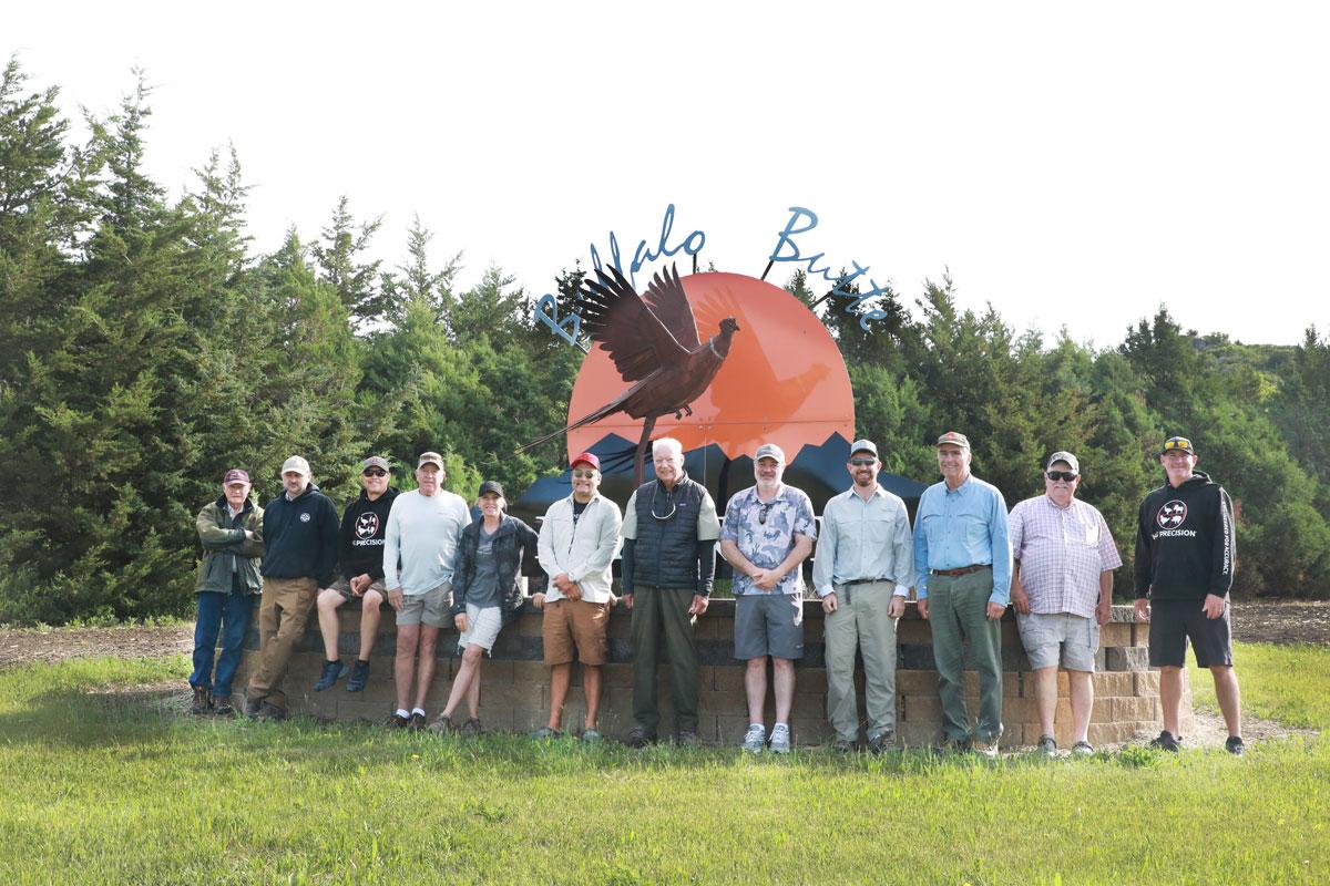 Group Photo at Buffalo Butte Ranch